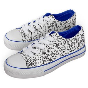 Jex Shoes - Monster Meeting Pattern - JNR UK 12