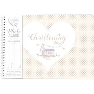 Said with Sentiment Photo Album - Christening Day