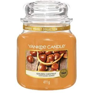 Yankee Candle Medium Jar Golden Chestnut