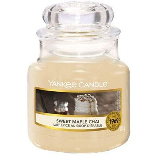 Yankee Candle Small Jar Sweet Maple Chai