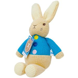 Made with Love Knitted Soft Toy - Peter Rabbit