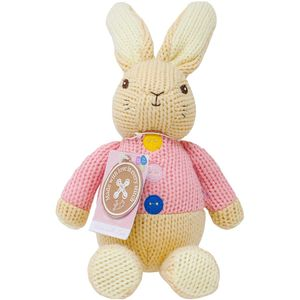 Made with Love Knitted Soft Toy - Flopsy Bunny