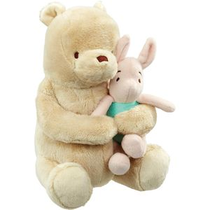 Disney Classic Pooh Lullaby Musical Soft Toy - Winnie The Pooh & Piglet