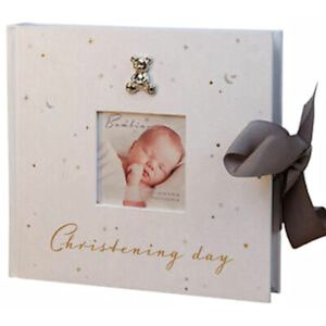 "Bambino Photo Album Holds 100 4x6"" Prints - Christening Day"