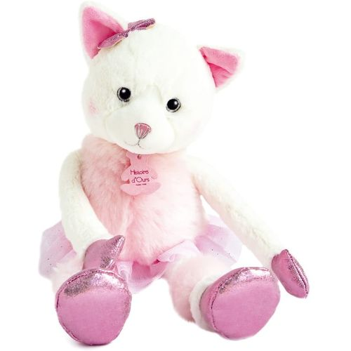 Histoire d'Ours Twist Soft Toy - Misty the Cat 35cm