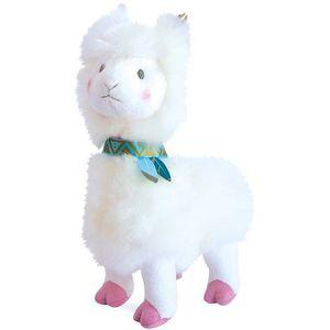 Histoire d'Ours Lama Soft Toy 30cm - White