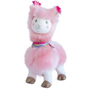 Histoire d'Ours Lama Soft Toy 30cm - Pink