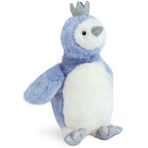 Doudou et Compagnie Penguin Pigloo Soft Toy 30cm - Blue