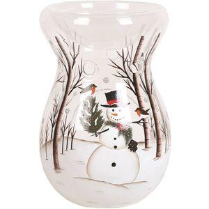 Snowman Wax Melt Burner 14cm