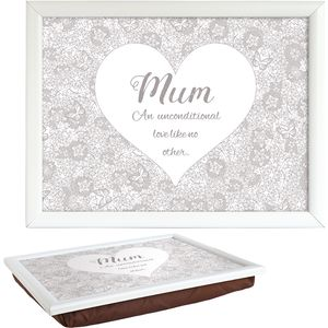 Said with Sentiment Lap Tray - Mum