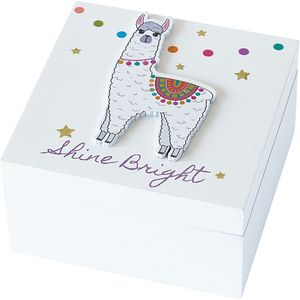 Arora Kids Llama Collection - Keepsake Box