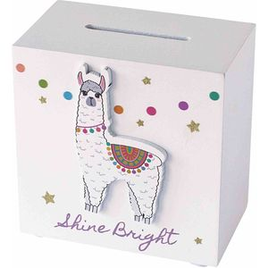 Arora Kids Llama Collection - Money Box