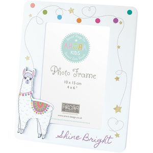 Arora Kids Llama Collection - Photo Frame 4x6""