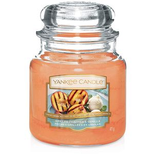 Yankee Candle Medium Jar Grilled Peaches