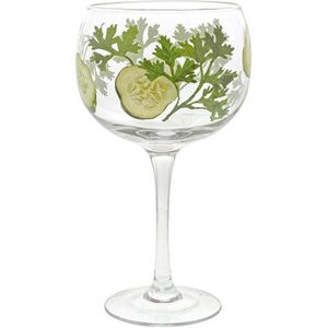 Ginology Gin Copa Glass - Cucumber