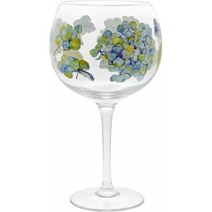 Hydrangea Gin Copa Glass