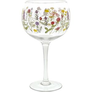 Ginology Gin Copa Glass - Wildflowers