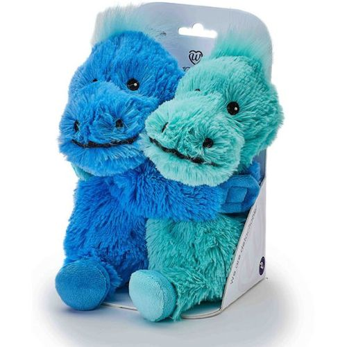 Warmies Plush Microwavable Soft Toys - Warm Hugs Dinosaur