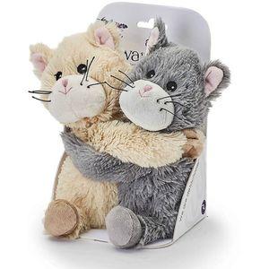 Warmies Microwavable Plush Soft Toys - Warm Hugs Kittens