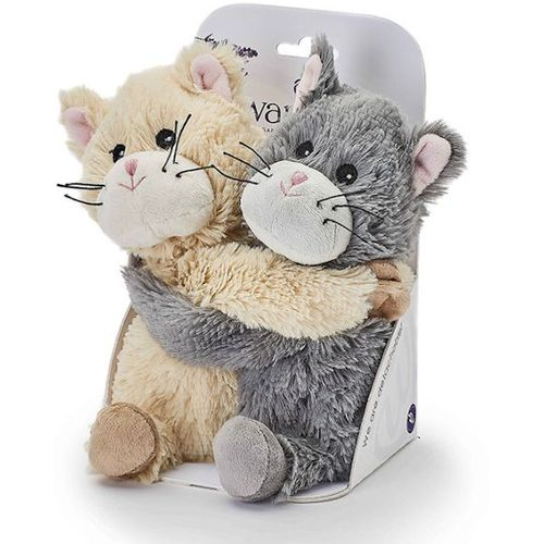 Warmies Plush Microwavable Soft Toys - Warm Hugs Kittens