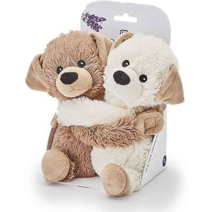 Warmies Microwavable Plush Soft Toys - Warm Hugs Puppies