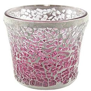 Yankee Candle Votive Holder - Pink Fade Mosaic