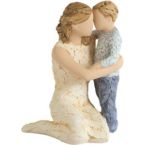 More Than Words Love you Forever (Mum & Son) Figurine