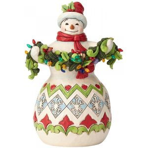 Heartwood Creek Snowman Figurine - Make the Season Bright
