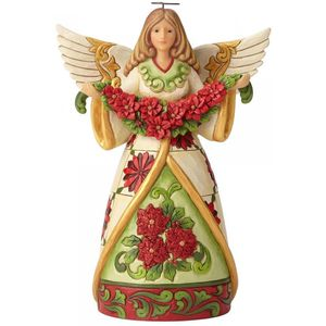 Heartwood Creek Angel Figurine - Winter Beauty in Bloom