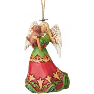 Heartwood Creek Hanging Ornament - Angel with Dog