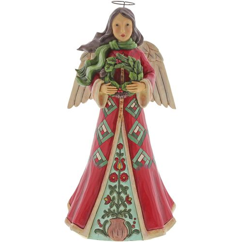 Heartwood Creek  Christmas Angel Figurine - Blessings of Home & Hearth 6004246