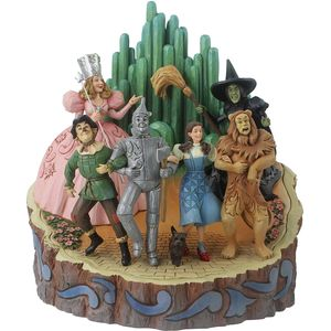 Disney Traditions Carved by Heart Figurine - Adventure to the Emerald City