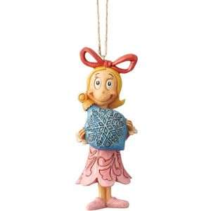 The Grinch Cindy Lou with Bauble Hanging Ornament