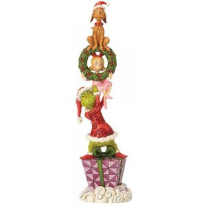 Jim Shore The Grinch Figurine - Stacked Grinch Characters