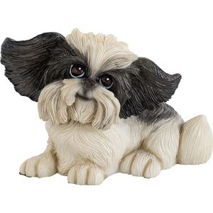 Little Paws Oreo Shih Tzu Dog Figurine