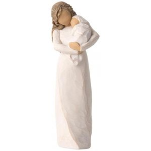 Willow Tree Sanctuary Figurine (Mother & Baby)