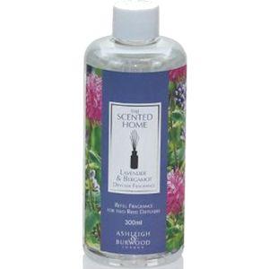 Ashleigh & Burwood Reed Diffuser Fragrance Refill 300ml - Jasmine & Tuberose