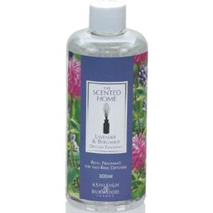 Ashleigh & Burwood Reed Diffuser Fragrance Refill 300ml - Lavender & Bergamot