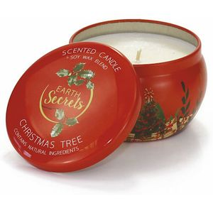 Ashleigh & Burwood Earth Secrets Scented Candle in Tin - Christmas Tree