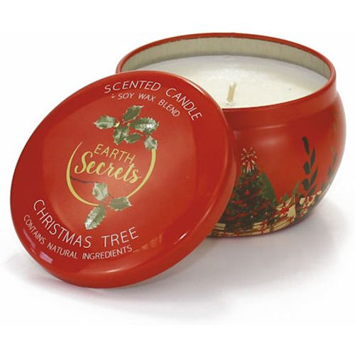 Ashleigh & Burwood Earth Secrets Scented Candle in Tin: Christmas Tree