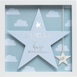 Said with Sentiment Star in Frame - A Little Love