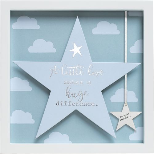 Said with Sentiment Star in Frame: A Little Love
