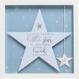 Said with Sentiment Star in Frame - Twinkle Twinkle