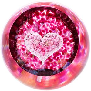 Caithness Glass Paperweight: Love - Big Heart