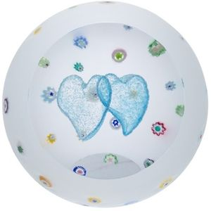 Caithness Glass Paperweight: Love - Sprinkled with Love