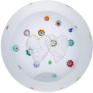 Caithness Glass Paperweight: Love - Together Forever