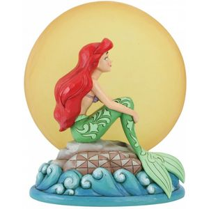 Disney Traditions Mermaid by Moonlight (Ariel with Light up Moon) Figurine