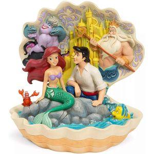 Disney Traditions Scene Figurine - Seashell Scenario (The Little Mermaid)