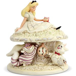 Disney Traditions White Woodland Figurine - Whimsy & Wonder (Alice in Wonderland