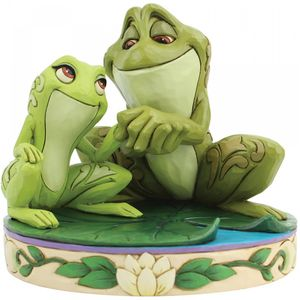 Disney Traditions Amorous Amphibians (Tiana & Naveen as Frogs) Figurine